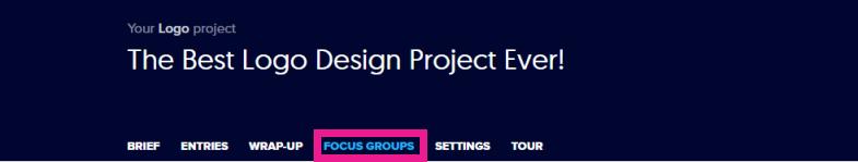 Focus Group Tab