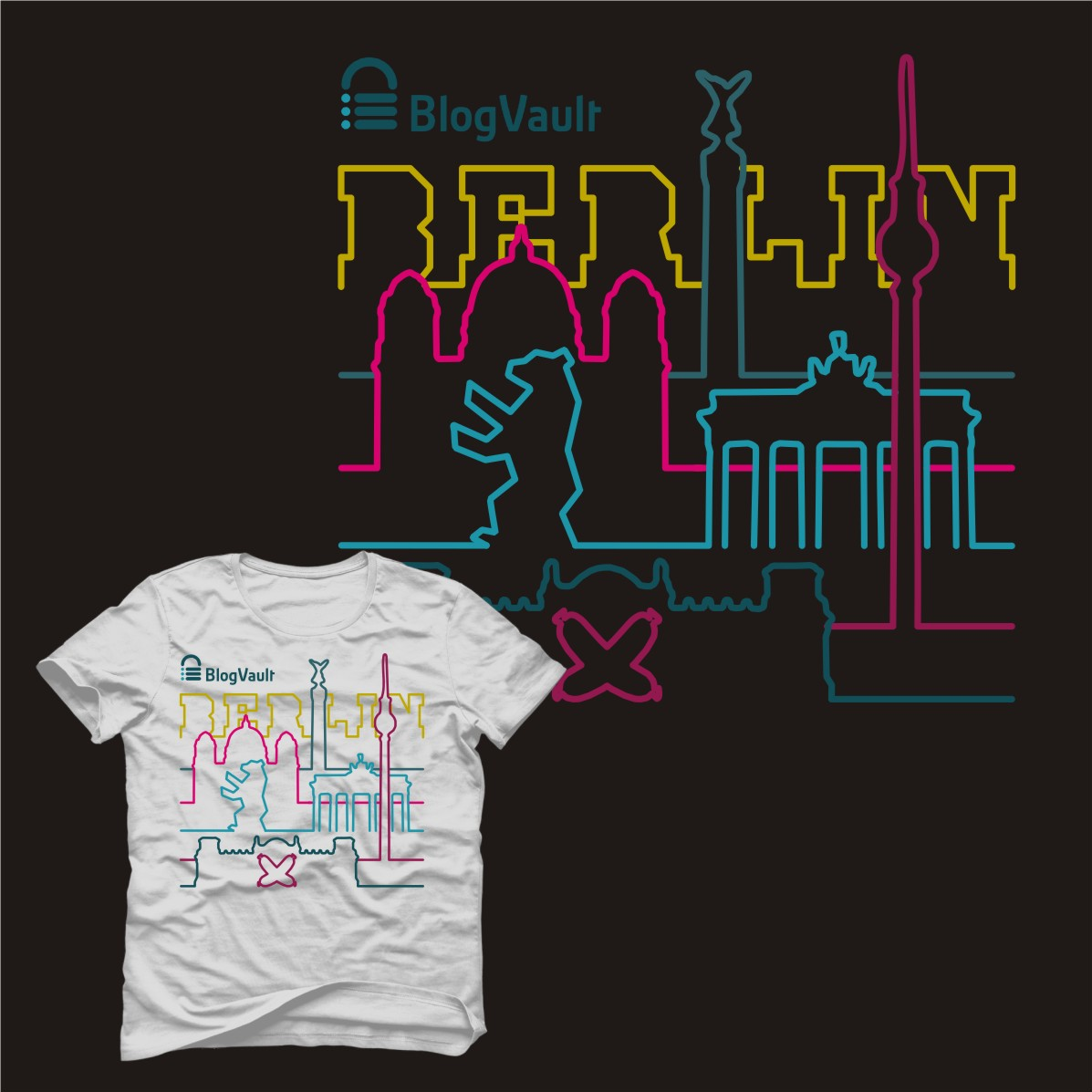 The Berlin Wall Project -- T-Shirt Design, A Clothing